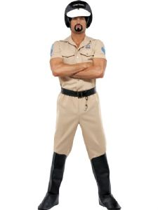 Village People Motorcycle Cop Costume
